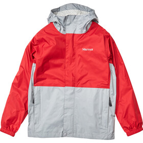 Marmot PreCip Eco Veste Garçon, team red/sleet